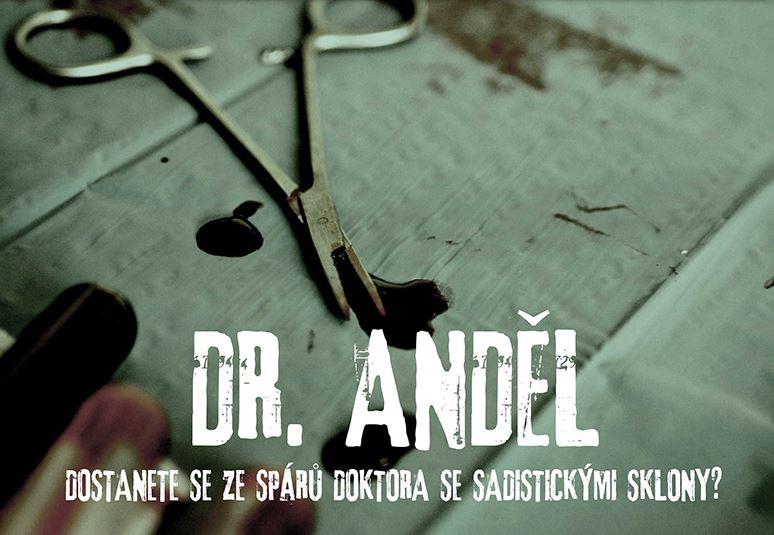 Úniková hra v Brně: Dr.Anděl